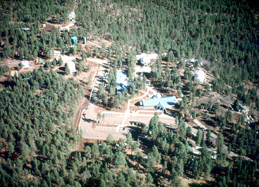 Lowell Observatory Campus Aerial View
