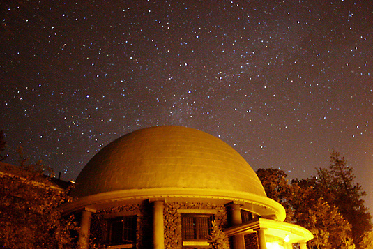 The Rotunda Museum at Lowell Observatory by Night