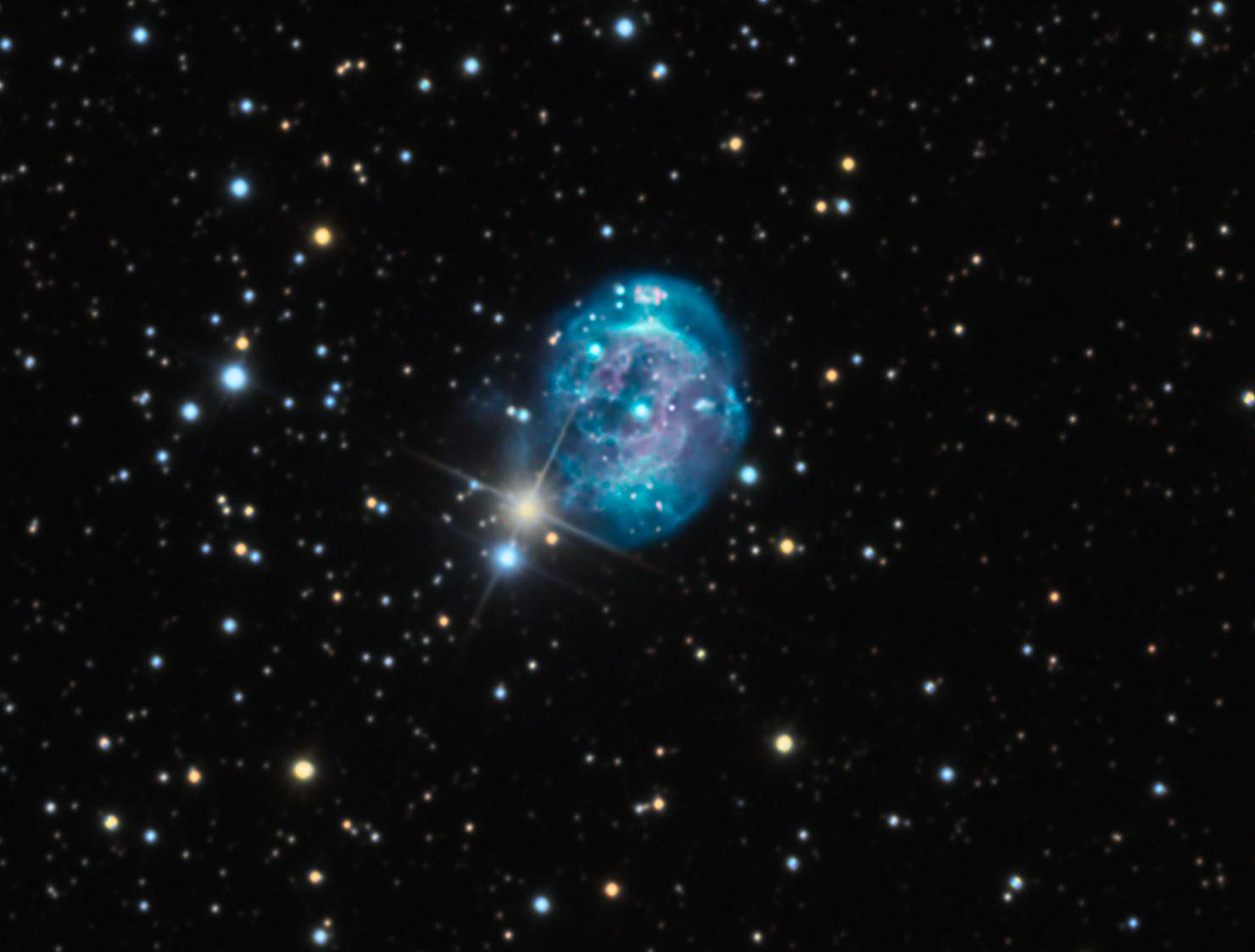 Birth of Cool: Photographers Catch Brilliant Fetus Nebula