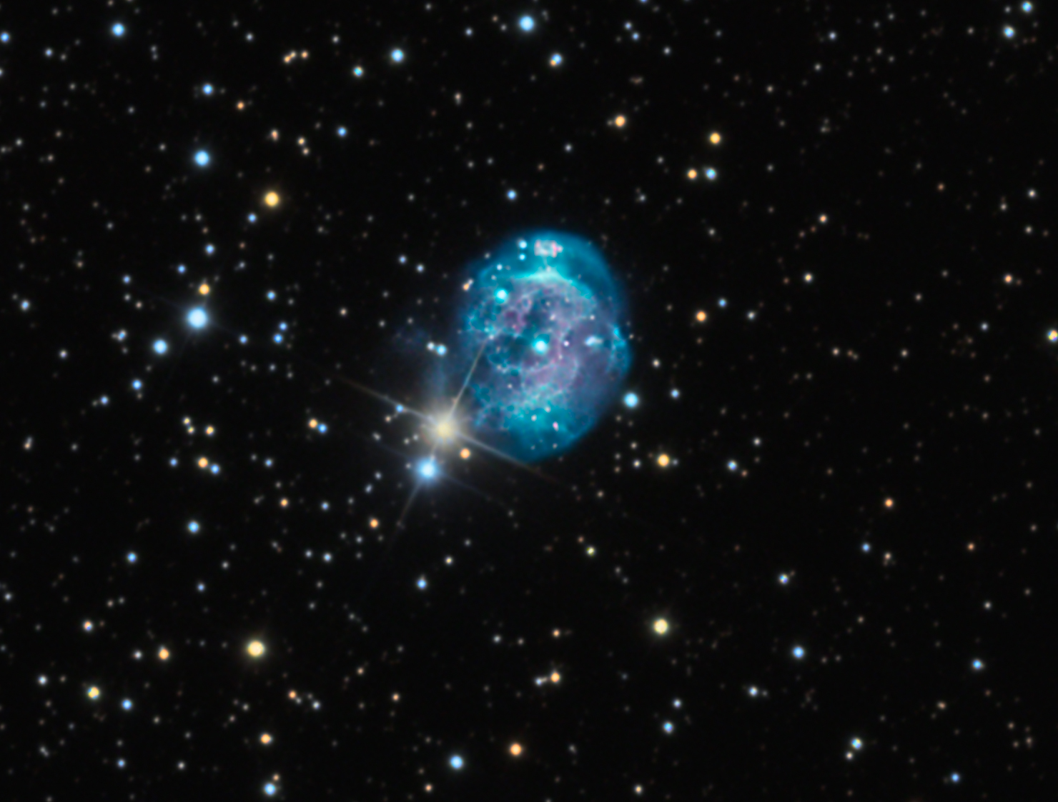 Birth of Cool: Photographers Catch Brilliant Fetus Nebula
