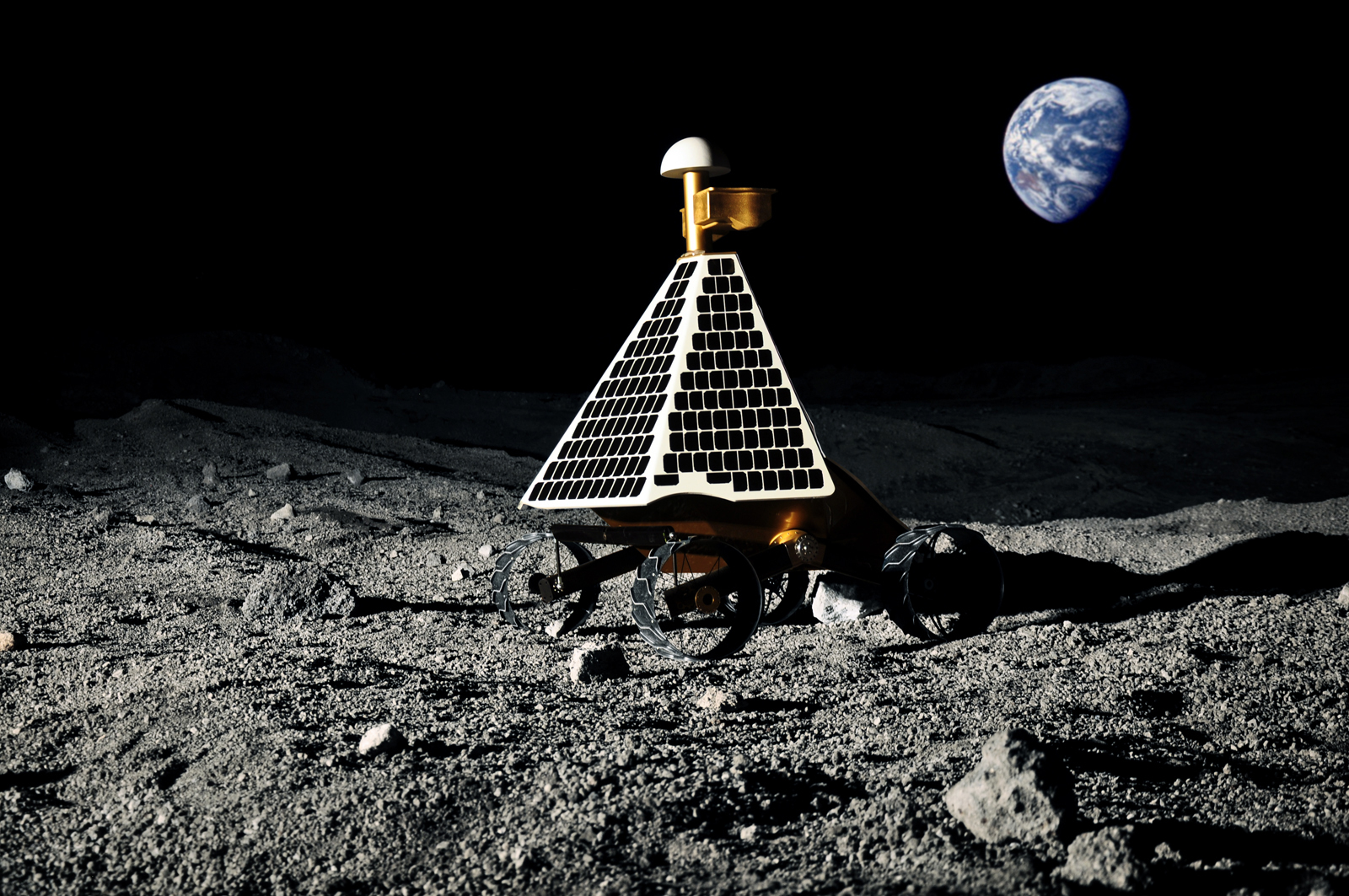 Google Lunar X Prize Competitors: Space Race