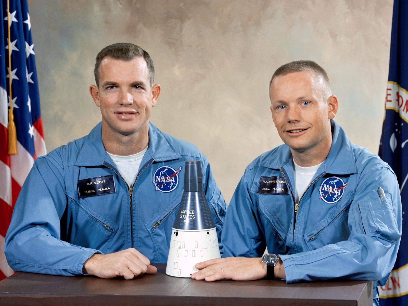 Neil Armstrong and Dave Scott: Gemini 8 Crew