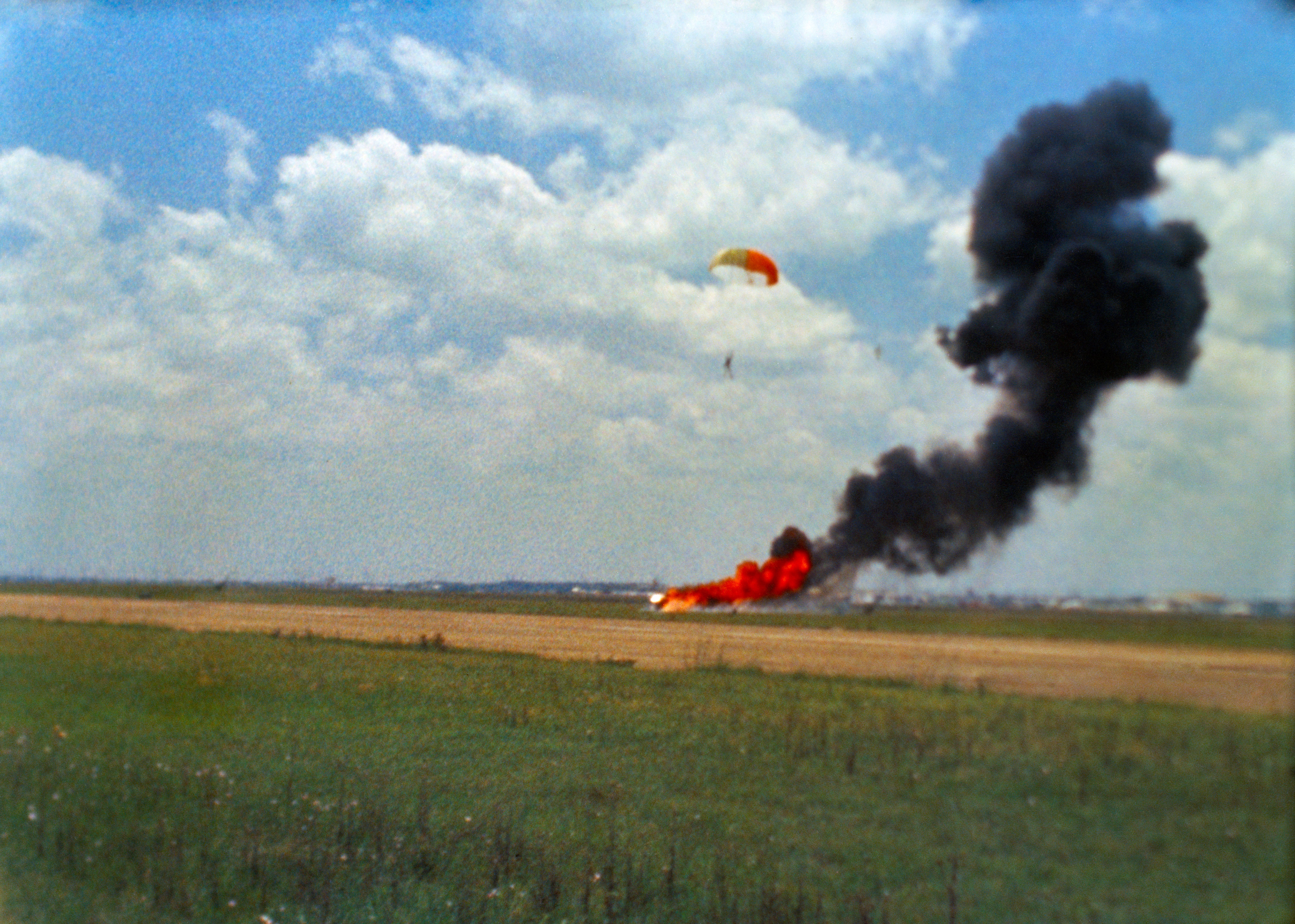 Neil Armstrong Escapes Lander Crash