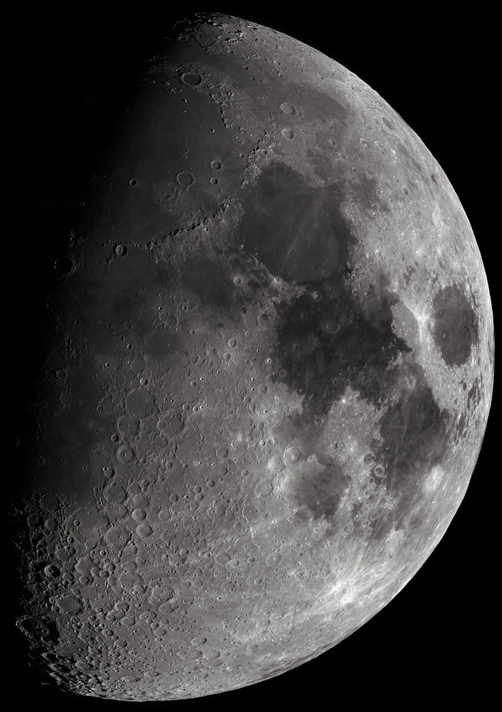 116-Megapixel Moon Mosaic by David Campbell