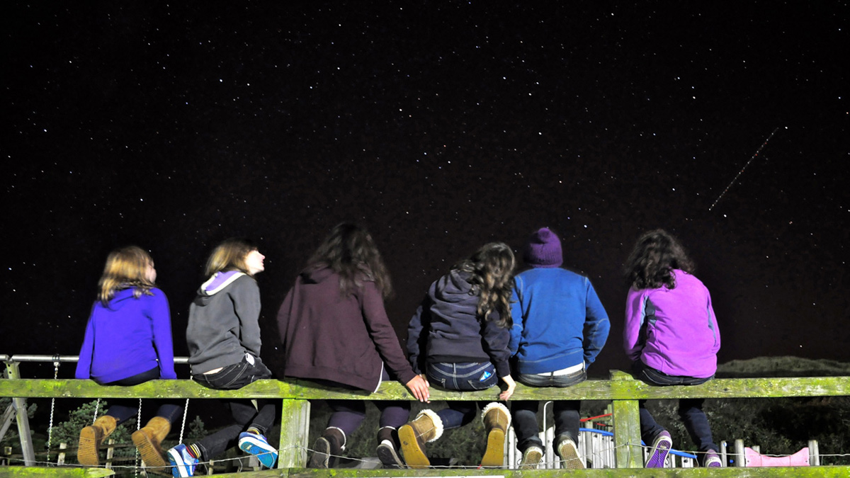 Stargazers by Jessica Caterson, Young Astronomy Photographer of the Year