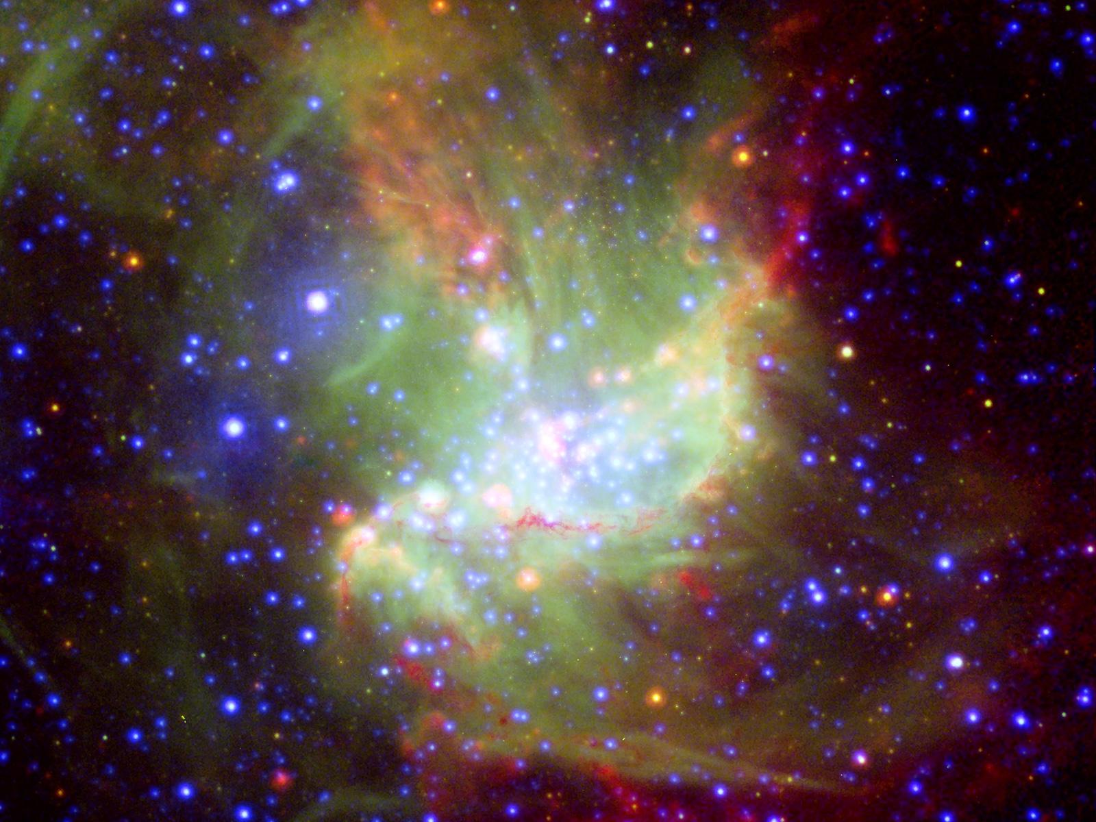 Star-Forming Region NGC 346 1600