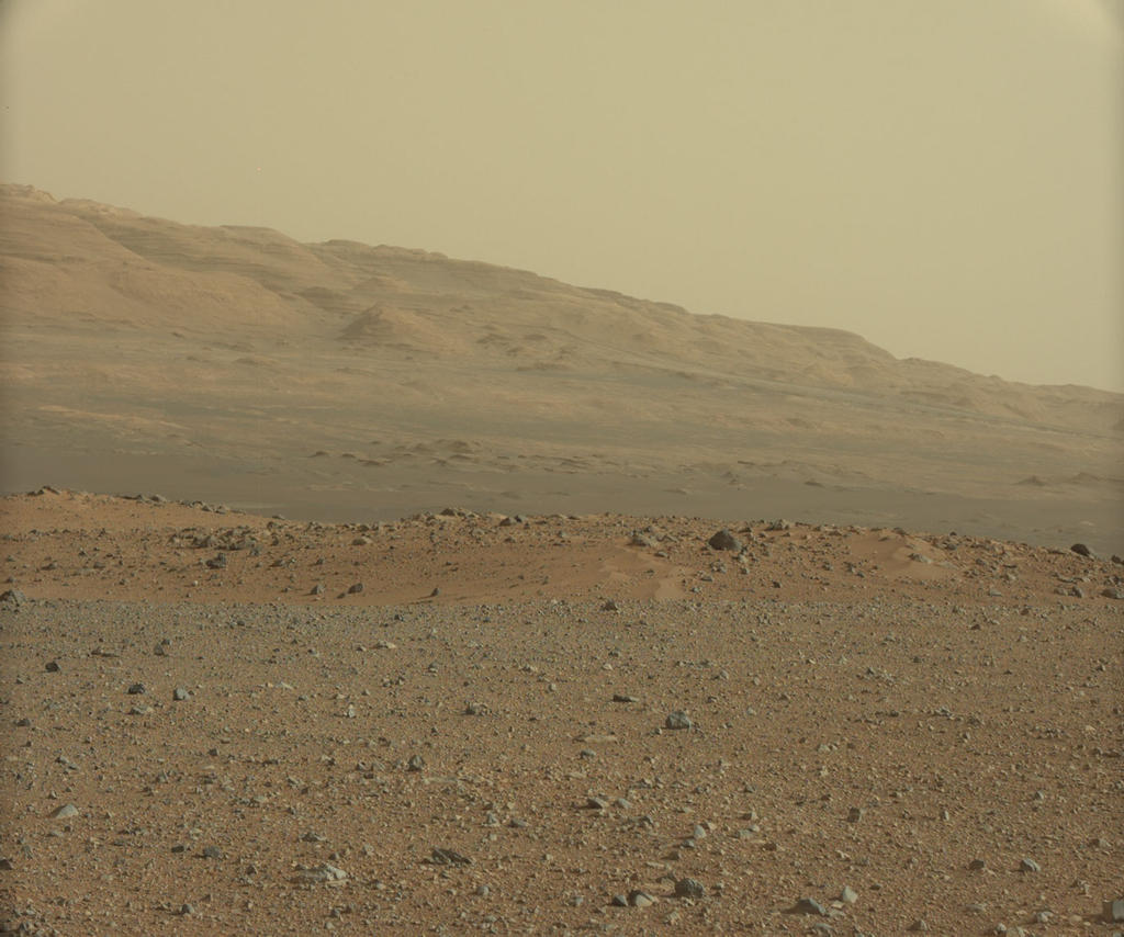 Mars Rover Snaps Test Shot Near Landing Site (Photo)
