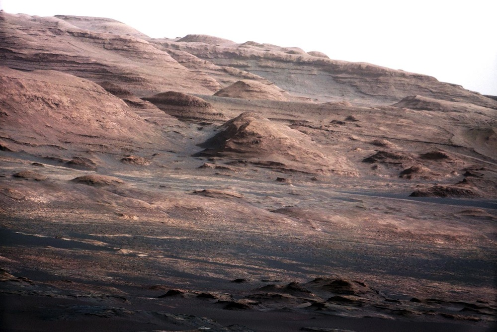 Layers at Base of Mount Sharp 1000