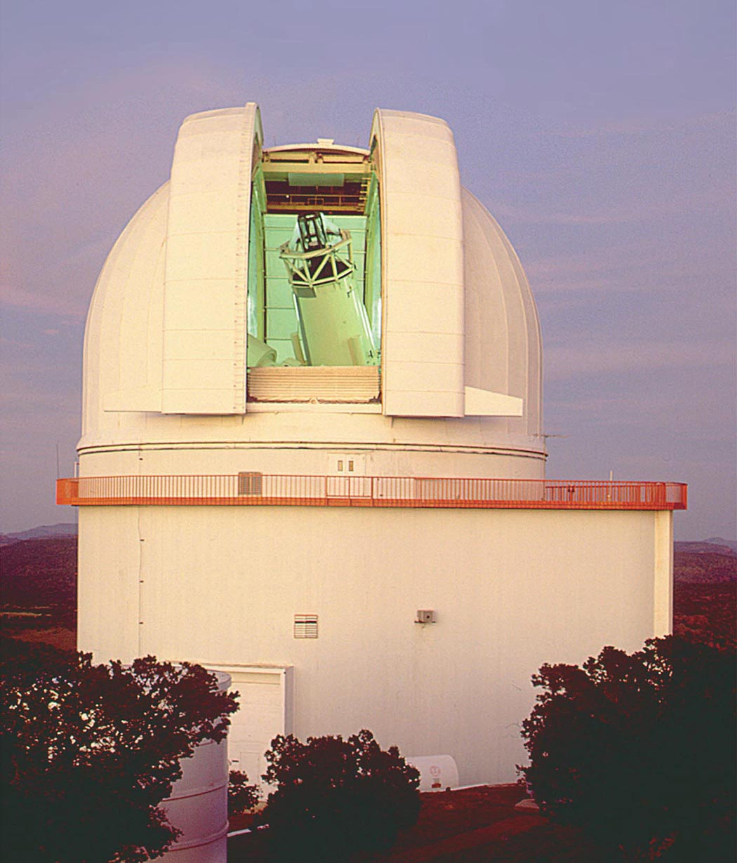 Harlan J. Smith Telescope at McDonald Observatory