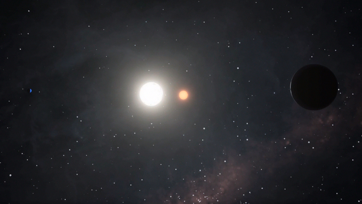 Kepler-47: Two Planets Circling Two Stars