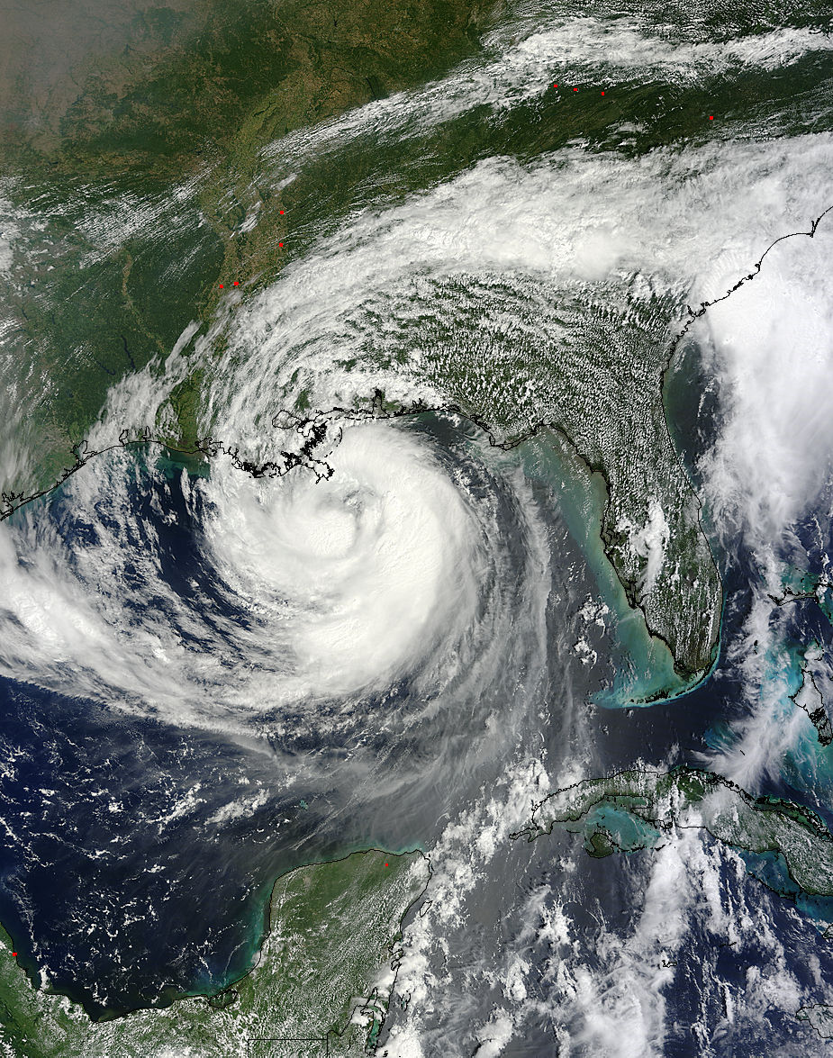 Hurricane Isaac From Space