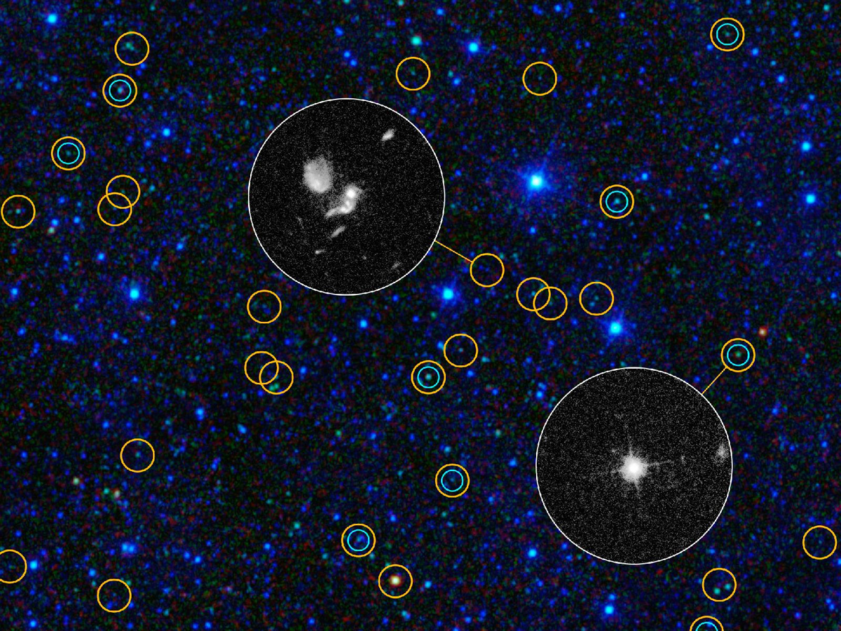 Black Hole 'Bonanza': Millions Found by NASA Space Telescope