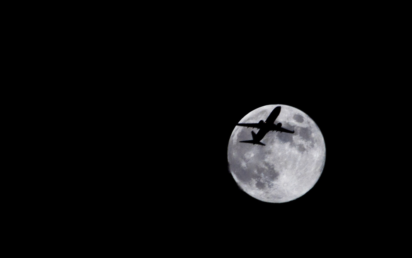 Full Moon and Airplane: Sid Vedula