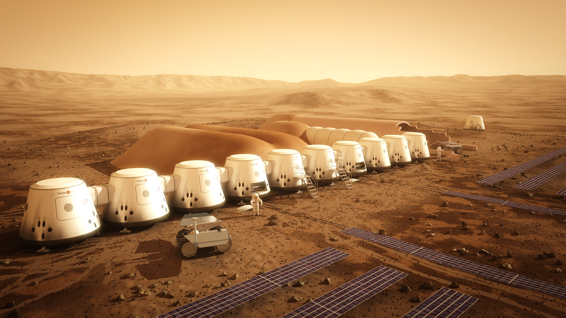 One-Way Mars Trip: Aspiring Martian Colonists Land In Washington