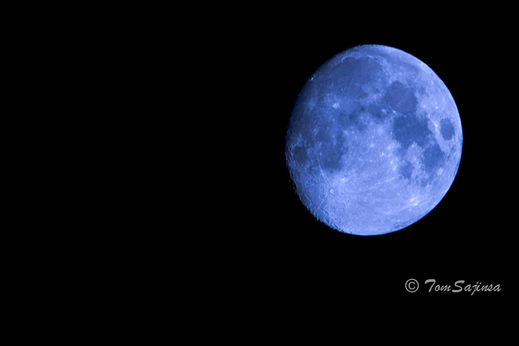 Almost Blue Moon