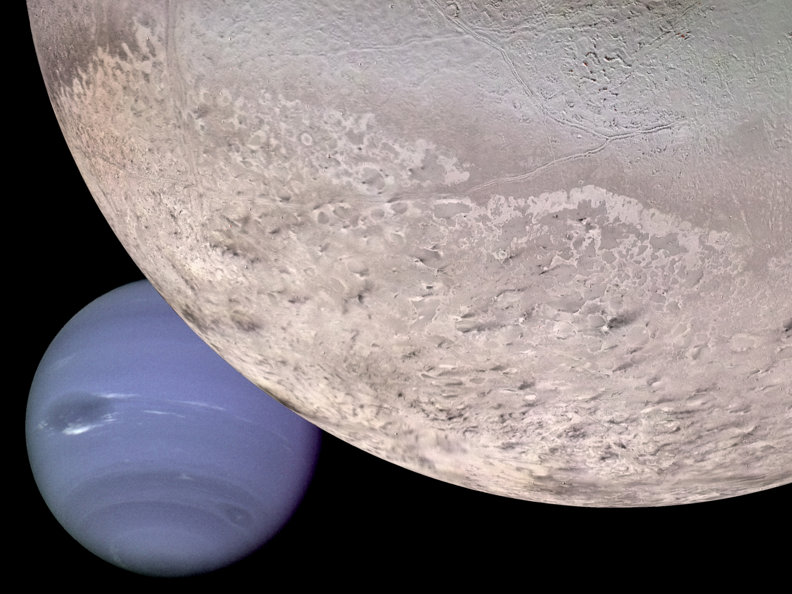 Montage: Neptune and Triton