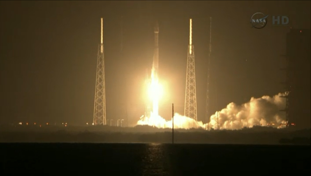 Liftoff! Radiation Belt Storm Probes Launch