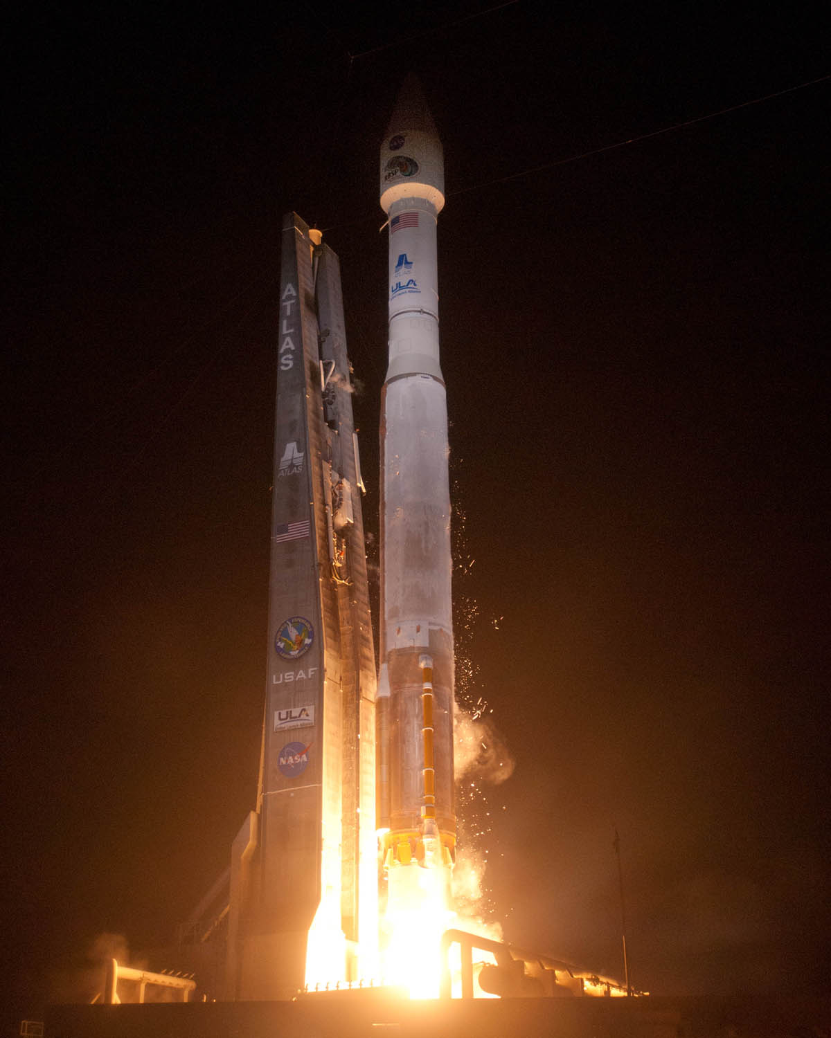 Launch Photo: Radiation Belt Storm Probes