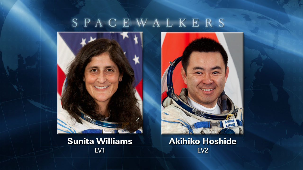 Spacewalkers for Expedition 33 Excursion