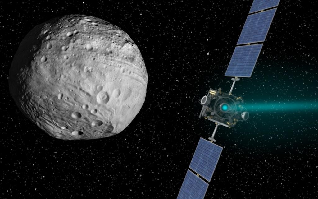 Dawn Leaves Protoplanet Vesta