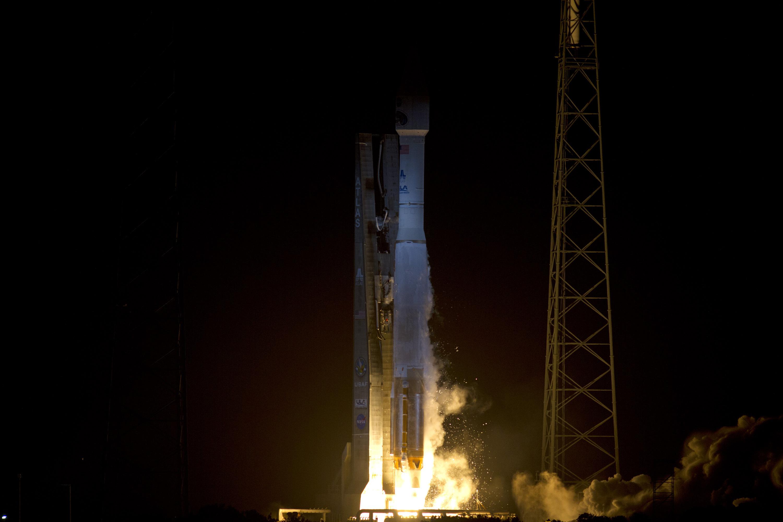 Launch Photo: Radiation Belt Storm Probes