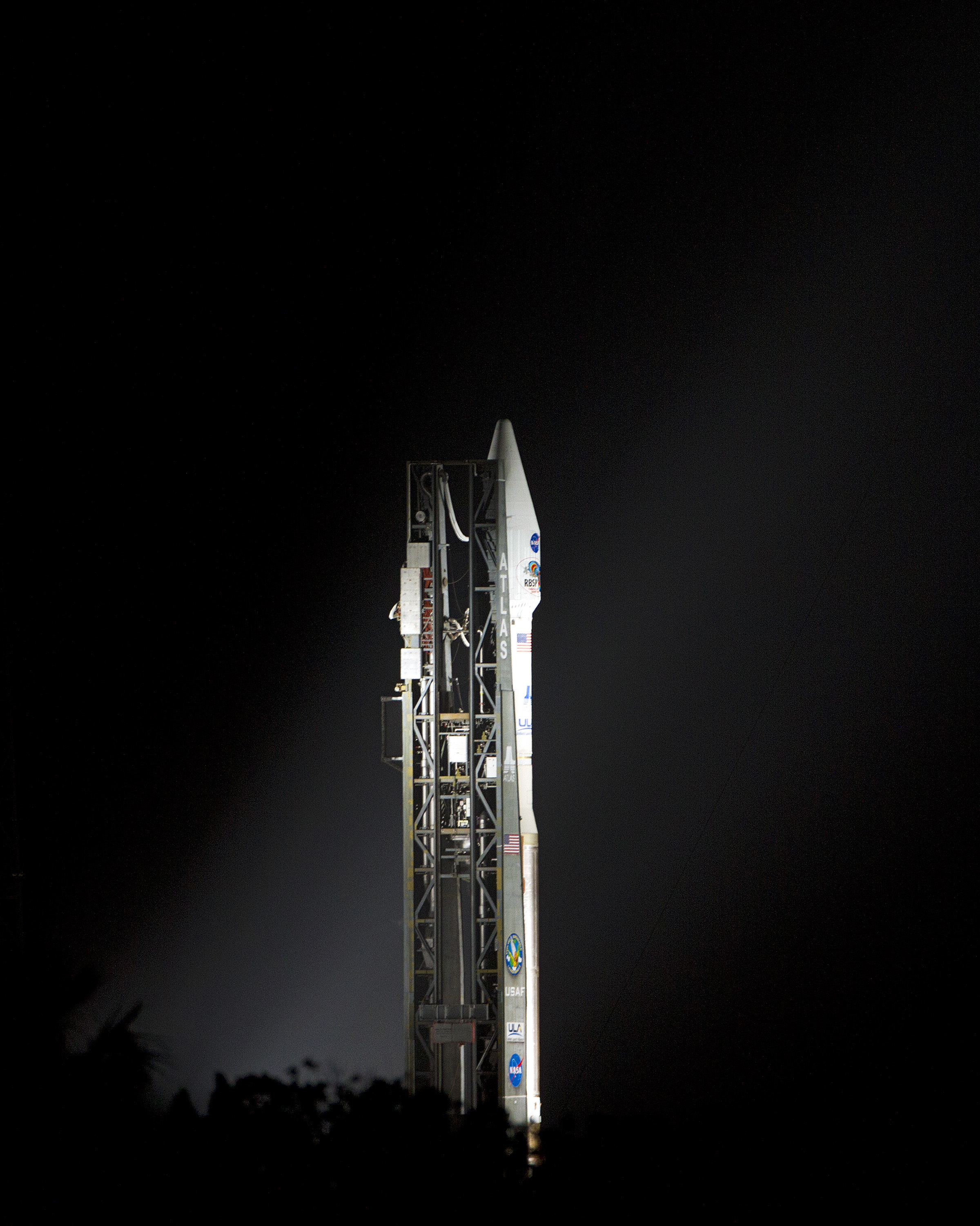 United Launch Alliance Atlas V Rocket Carrying RBSP