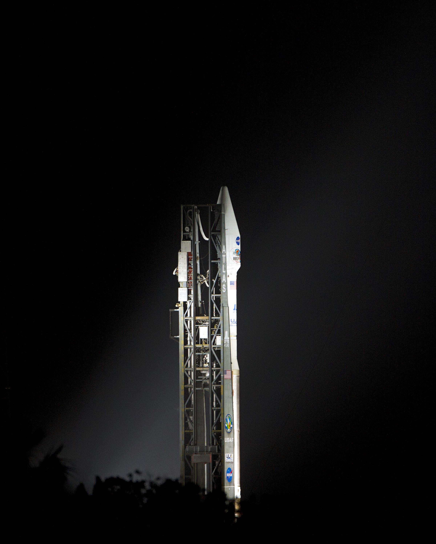 United Launch Alliance Atlas V Rocket Carrying RBSP