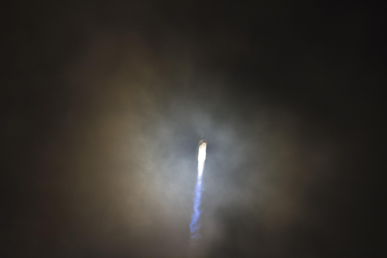 Atlas 5 Engine Glow