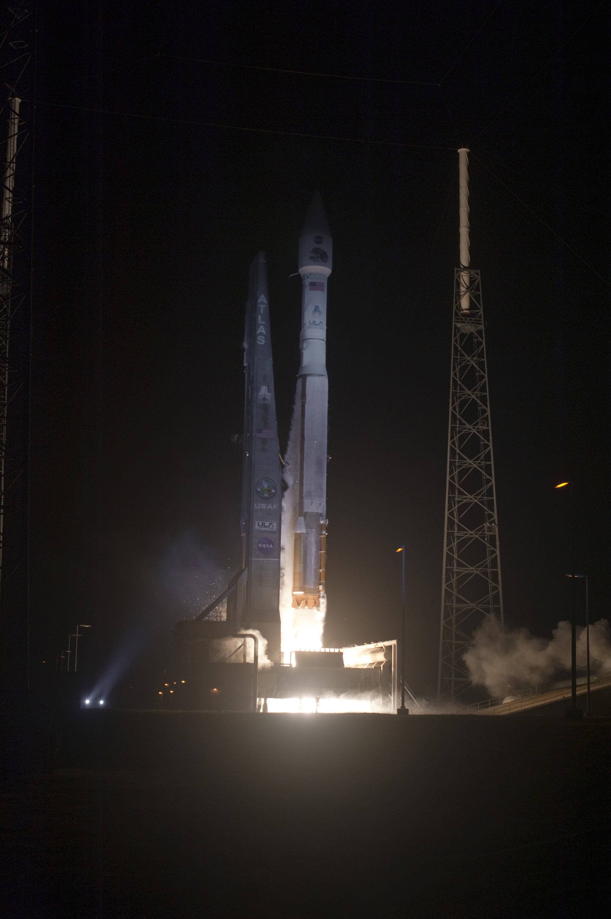 Atlas V Launches with Blue Hue