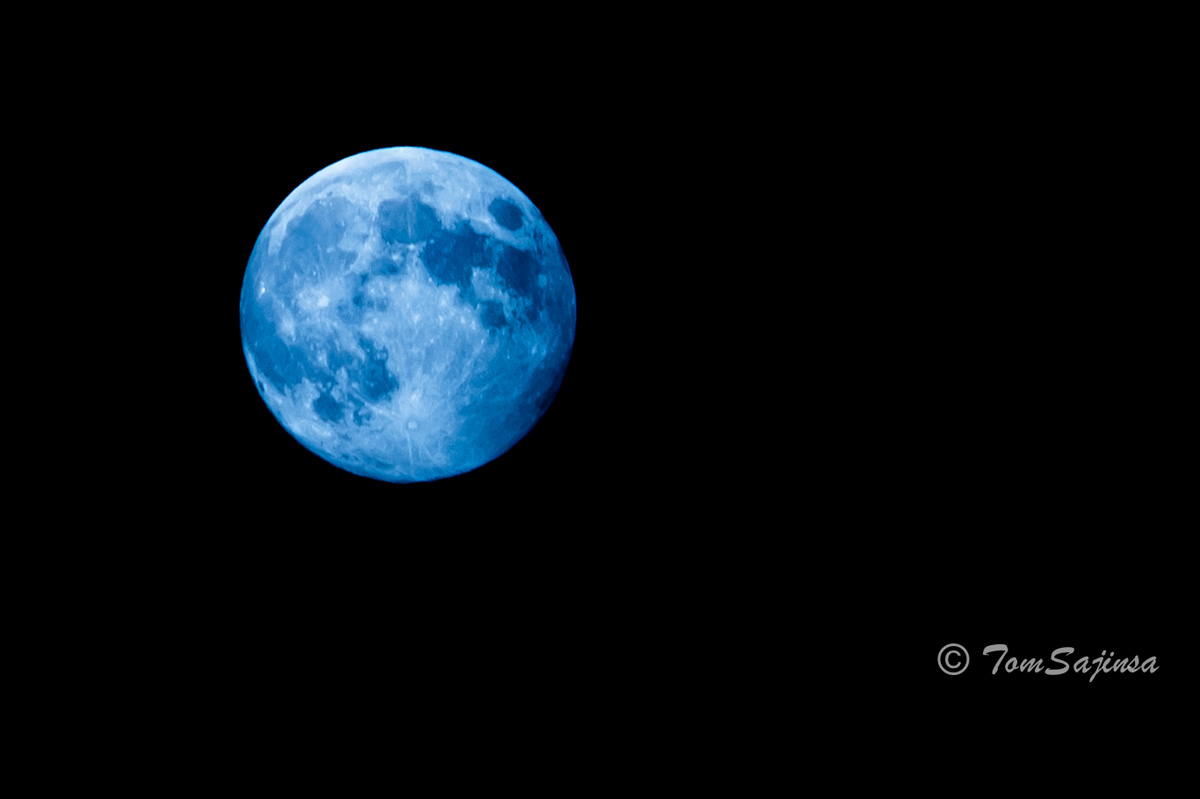 Blue Moon of New York City