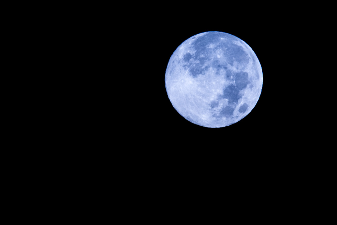 Blue Moon of New York City #3
