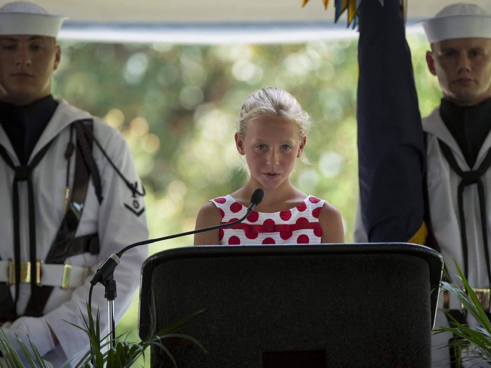 Neil Armstrong Memorial: Granddaughter Speaks