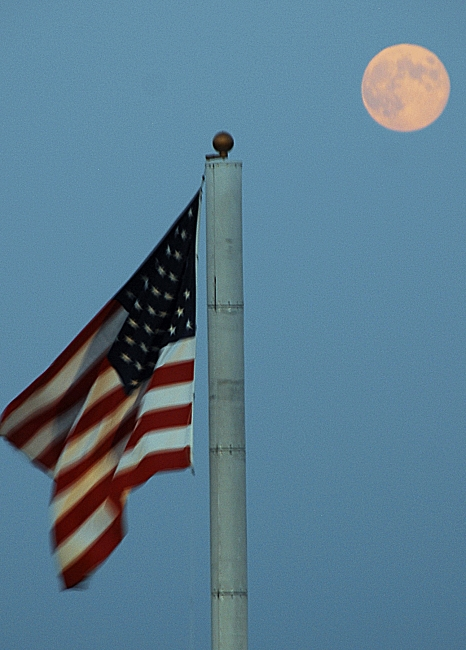 Moon, Stars and Stripes