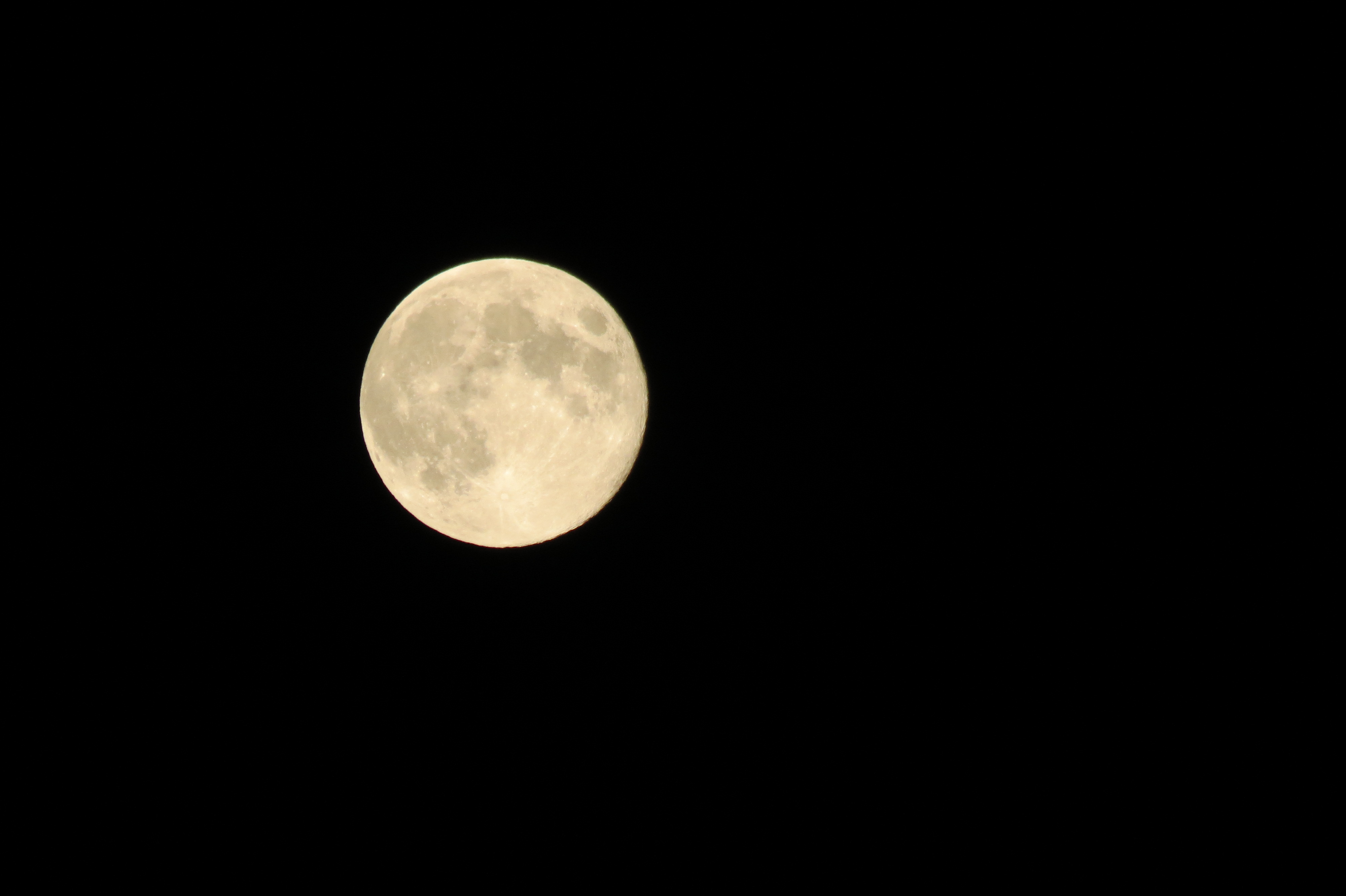 Blue Moon Over Levittown, N.Y.