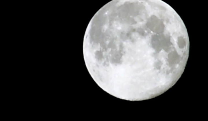 August's Blue Moon Gets A Close Up
