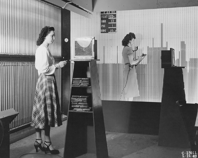 Space History Photo: Manometer Board Setup in Supersonic Wind Tunnel