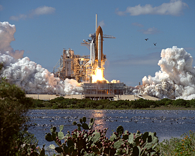 Space History Photo: STS-66 Launch