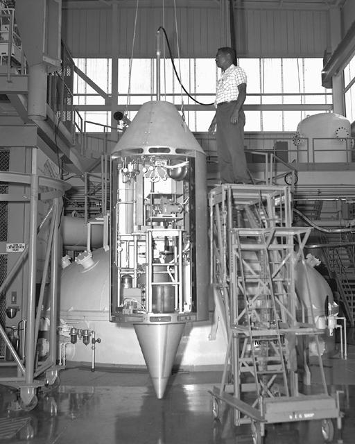 Space History Photo: Zero G