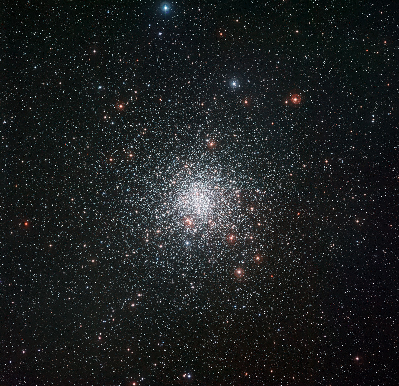 Strange Star in Nearby Cluster Resists Aging