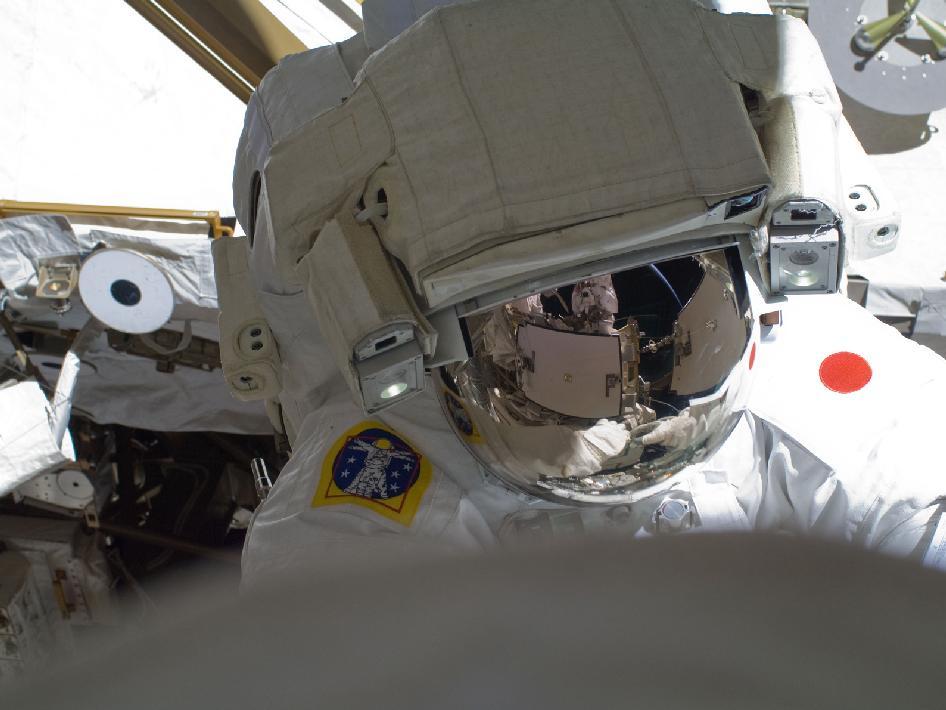 Spacewalker Akihiko Hoshide