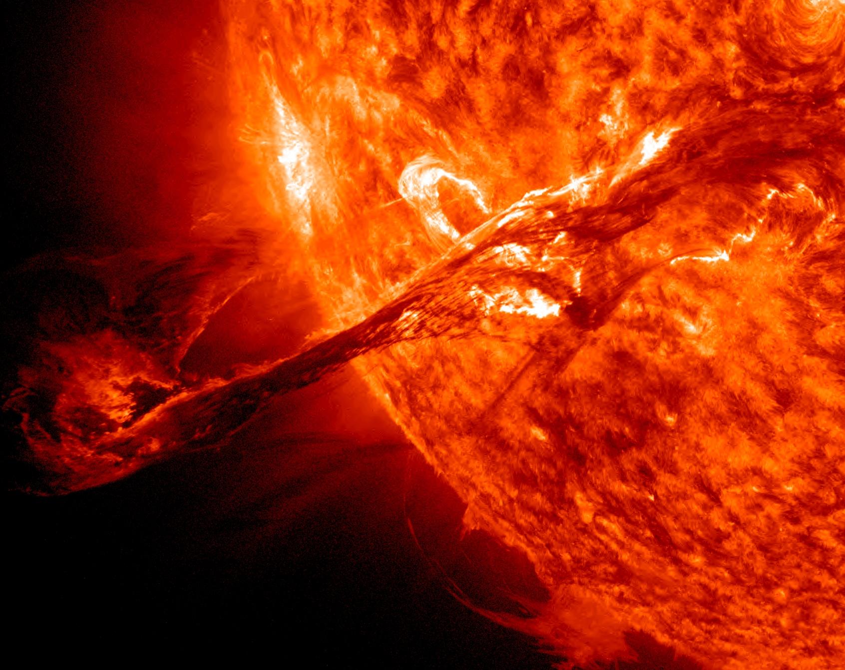 Giant Solar Prominence