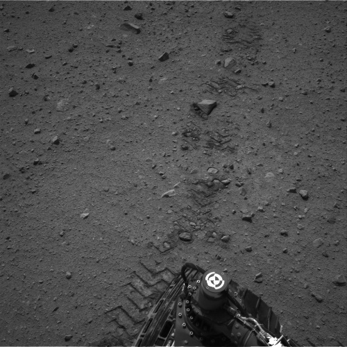 Tracks From Curiosity's Longest Drive