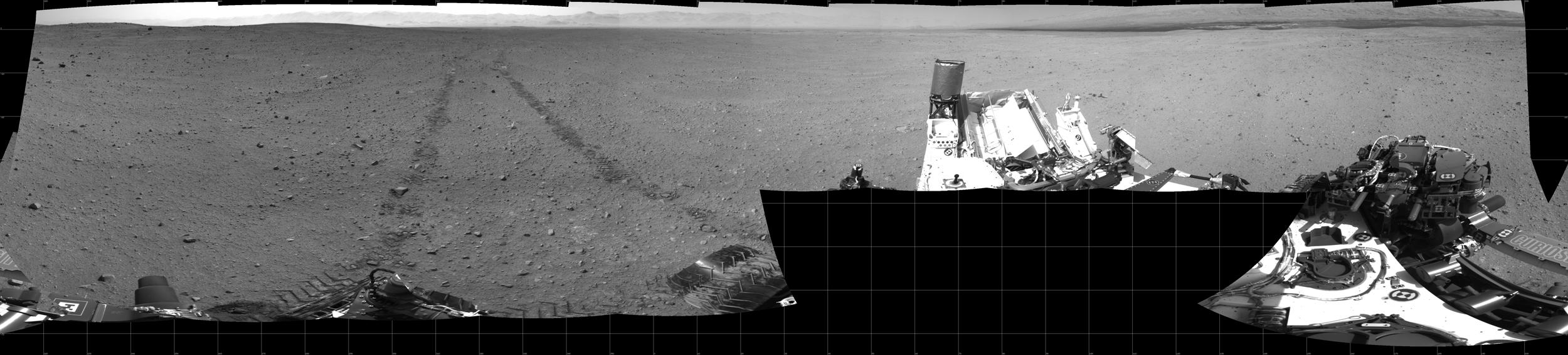 Looking Back: Mars Rover Curiosity
