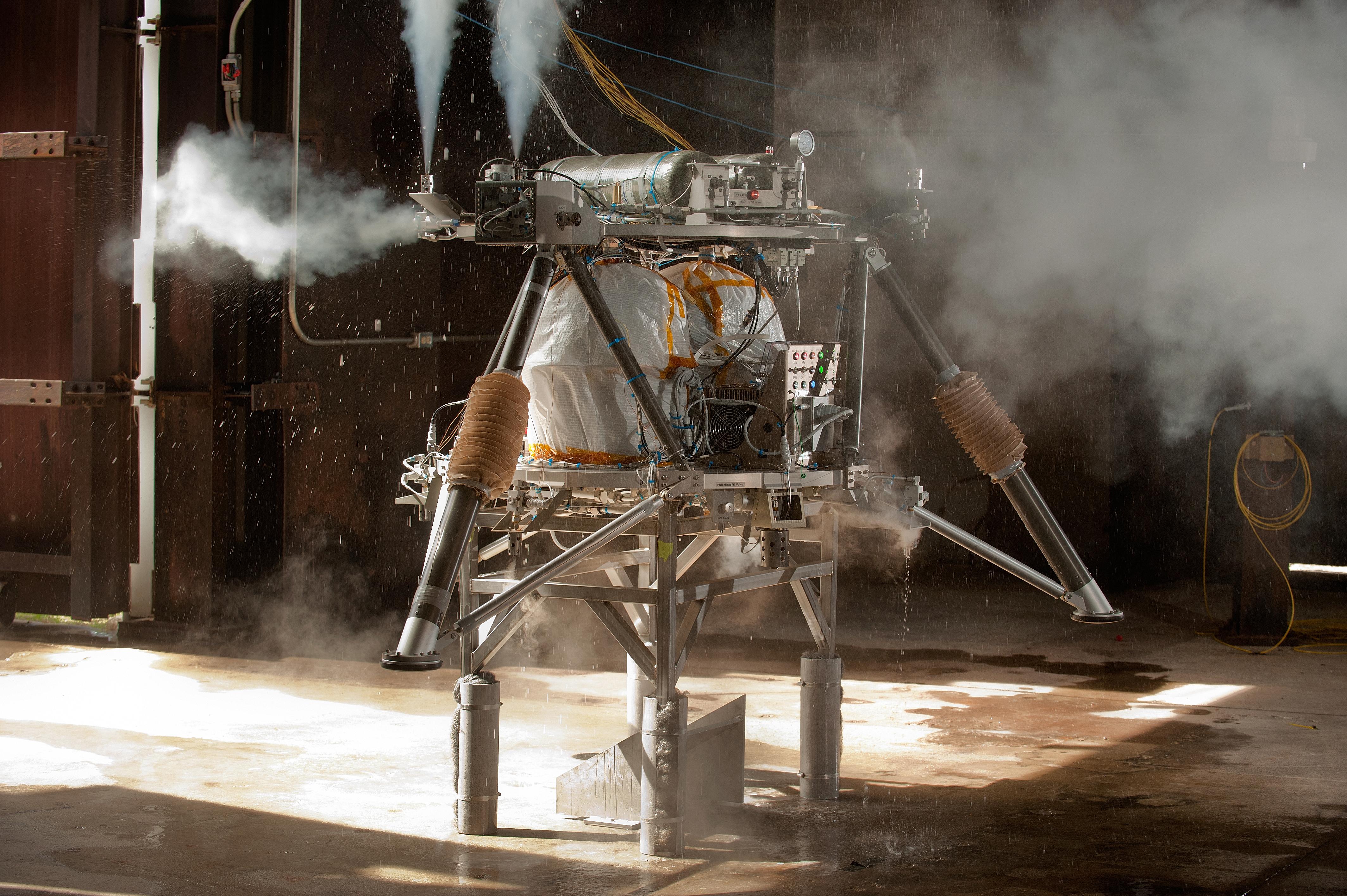 Eagle Lander Strapdown Test