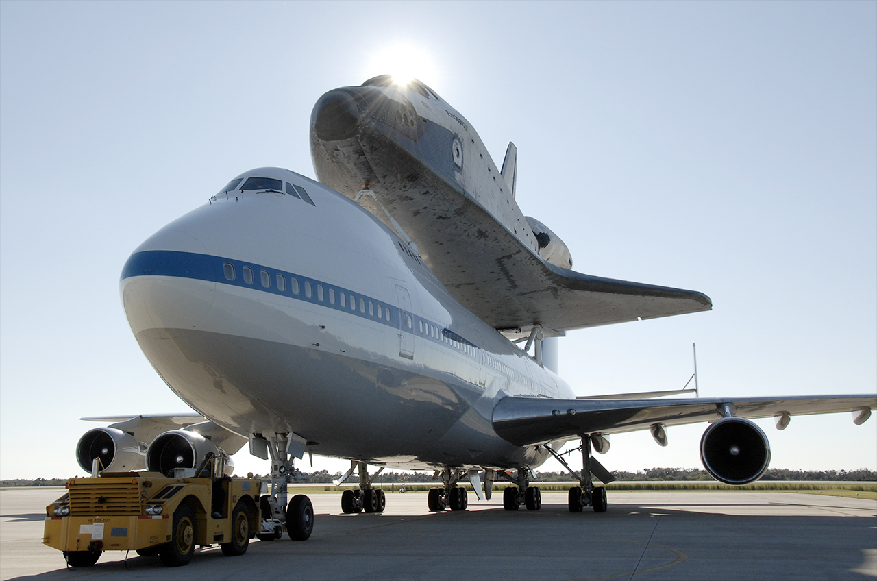 NASA's Space Shuttle Endeavour to Depart on Cross-Country Flight for Display