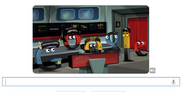 Google Celebrates 'Star Trek' Birthday With Fun Doodle