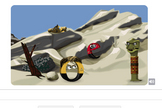 The Sept. 7, 2012 Google Doodle allows visitors to fire at Gorn, an alien species from the Star Trek television series that first premiered 46 years ago today.