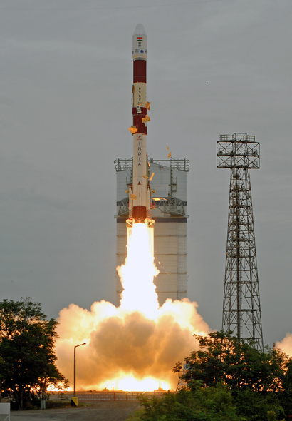 India Launches 100th Mission