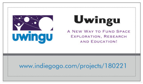 The new startup company Uwingu aims to offer an alternative funding source for space projects.