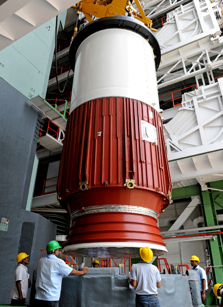 India's 100th Rocket Assembly